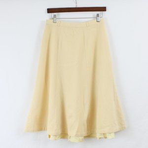 Vintage 70s Yellow Skirt